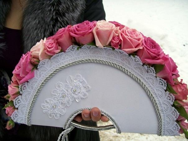 Веер своими руками для свадьбы