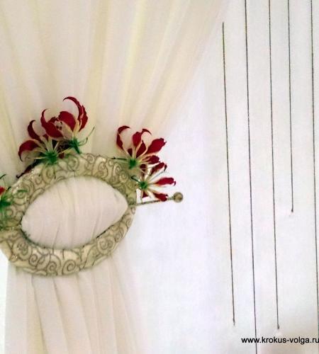 Фрагмент оформления свадебного президиума