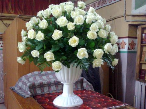 Композиция в подарок Настоятелю храма к Дню Ангела.
