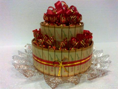 Двухярусный тортик