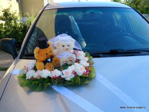 Свадебные медведи.