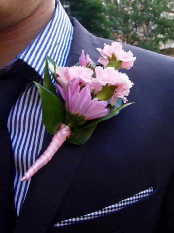 бутоньерка для жениха