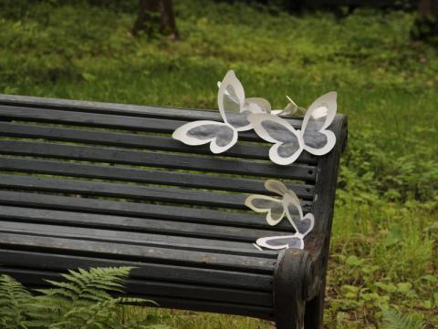 Оформление скамейки