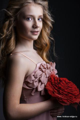 Светлана и розы.
