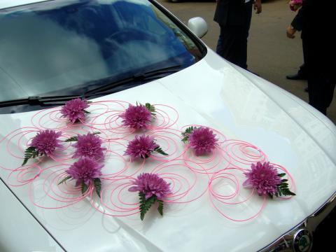 украшение машины