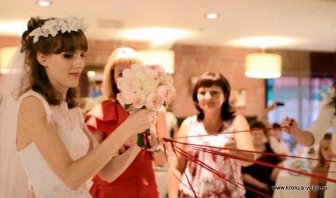 Розыгрыш свадебного букета